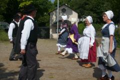 2009 Tanzvorführung der Gruppe chez nous