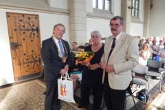 2017 Ehrung des Freundschaftskreises und von Herrn Helbach und seiner Frau Hanni