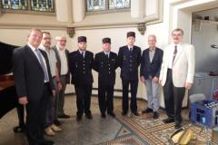 2017 wurde die französische Gruppe von Feuerwehrmännern aus Cercy ergänzt